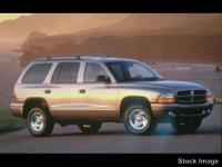 This 1999 Dodge Durango 4DR 4WD might just be the SUV