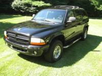 1999 DODGE DURANGO SLT (4WD). 4 Door, Automatic,