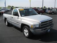 Options Included: N/AThis 1999 Dodge Ram 1500 Regular