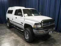 4x4 Diesel Truck with Canopy!  Options:  Am/Fm