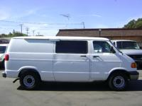 1999 Dodge Ram Van B1500 Shorty Cargo Van, Shorty