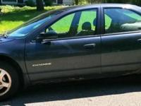 1999 Dodge Stratus ES 4 Door Sedan. 2.5-liter V-6