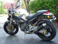1999 Ducati Limited Edition Monster Cromo 900. One of