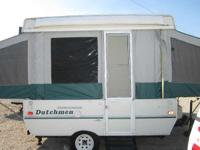 "Pop-Up Campers Pop-Up 5378 PSN . Side dinette 48"" beds"