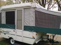 Canvas in good condition, New tires last camping