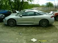 FOR SALE MANY GOOD PARTS FROM A 1999 ECLIPSE GS. WE ARE