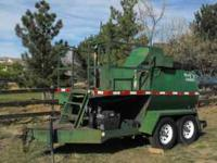 1999 EZ Lawn Hydro seeder model HD9003Rs with grinder