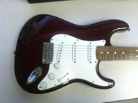 For sale is a 1999 Fender Mexico Stratocaster. Guitar