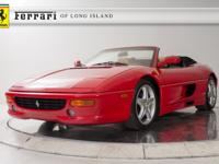 1999 Ferrari F355 Spider Serie Fiorano 6-Speed Manual
