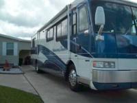 American Coach Motor Home Diesel Pusher RV 1999