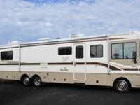 1999 FLEETWOOD BOUNDER 36S , TAN, TAN, 1999 FLEETWOOD