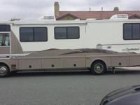1999 Fleetwood Southwind 32V. This house on the road is