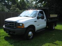 Options Included: 4 Wheel Drive1999 Ford F350 Dump
