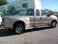 1999 Ford Dually Diesel Truck with 5th wheel - $16500