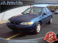 Options Included: Low Miles!1999 Ford Escort -