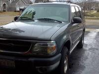 I am selling a 1999 Ford Explorer 4 x 4 that is in