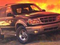 This 1999 Ford Explorer has a 4.0L V6. Standard