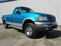 Exterior Color: island blue metallic, Body: Regular Cab