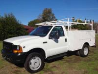 1999 Ford F-450 1999 Ford F-450 Service Truck With Lift