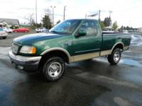 Engine: V8 4.6 Liter Exterior Color: Green
