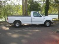 1999 FORD F150 XLT 4.2 V6, 5 SPEED MANUAL, LONG BED. IN