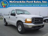 Options Included: N/APreowned 1999 Ford F250 Super Duty
