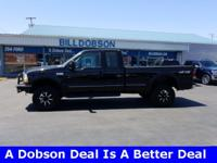 New Price! 1999 Black Clearcoat Ford F-250SD XLT