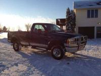 1999 Ford F250 Truck in Excellent Condition Green