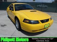 Options Included: N/A1999 Ford Mustang, yellow with