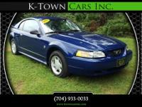 Options:  1999 Ford Mustang Coupe 2D|Blue|No Color|Air