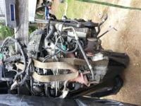 Motor runs great complete ready to drop in $350obo also