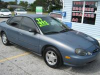 1999 FORD TAURUS SE RUNS GOOD  COLD A/C 164000