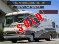 "1999 AIRSTREAM CUTTER 35"" DIESEL PUSHER! FREIGHTLINER"
