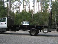 TRUCK - RUNS GREAT! Diesel Engine 20Ft Hydraulic