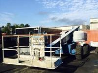 1999 Genie S60 4x4 diesel telescopic boom lift, 60'