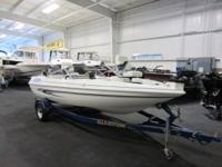 1999 GLASTRON 160 GS SF FISH AND SKI! A 90 hp Johnson