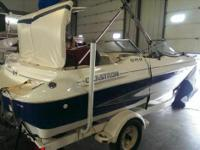 1999 Glastron SX175SF This boat is powered by a 4.3L