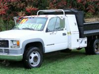 Automatic transmission and tool boxes. 1999 GMC C3500