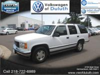 4WD. White Beauty! Oh yeah! Volkswagen of Duluth is