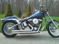 This is a beautiful 1999 Harley Davidson Custom Softail