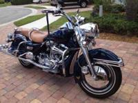 1999 Harley Davidson FLHR Road King Cruiser Bike is in