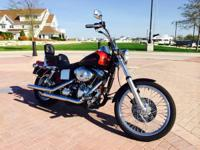 1999 Harley Davidson FXDWG Dyna Wide Glide. Perfect -