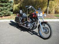 Harley-Davidson 1999 FXDWG Dyna Wide Glide with 9951