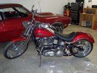 1999 Harley Davidson FXSTS Springer Softail. This bike
