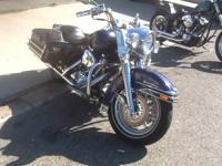 1999 HARLEY DAVIDSON ROAD KING 23,768 MILES ON BIKE