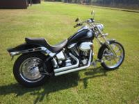 For sale is my 1999 Harley Softail Custom FXSTC. I am