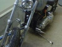 1999 FXSTC (softail custom) - this is the last year