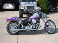 Up for sale is a 1999 Harley Davidson Softail. One