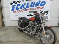 This 1999 Harley Davidson Sportster 1200 Custom is a