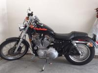 1999 Sportster 883 Custom. Great condition, garage